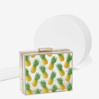 Skinnydip London Pineapple Box Crossbody