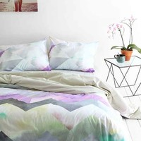 Magical Thinking Cosmic Chevron Duvet Cover