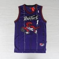 Best Deal Online NBA Classic Basketball Jerseys Toronto Raptors #1 Tracy McGrady Classics