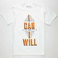 DESTORM I Can And I Will Mens T-Shirt | Graphic Tees