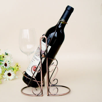 Bottle wine rack.Suit for home and office.Put the wine in right place = 4486910404