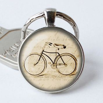 Bicycle Key Chains Bird Jewelry Boho Jewelry Hipster Jewelry Bicycle Gift Gift Under 20 Bag Pendant Christmas Gift for Women