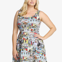 Disney Mickey Mouse Comic Scuba Dress