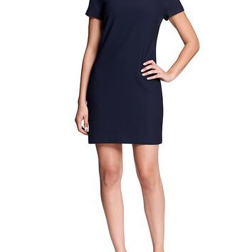 Banana Republic Womens Factory Jeweled Crepe Dress Size 0 - True navy