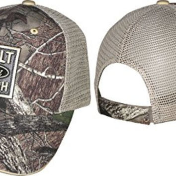Checkered Flag 2015 Ford Truck-Built Ford Tough- Camo Hat-Mesh