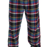 Ralph Lauren Multicolored Checkered Pajamas Casual Pants