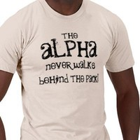 The Alpha Shirt for Guys from Zazzle.com
