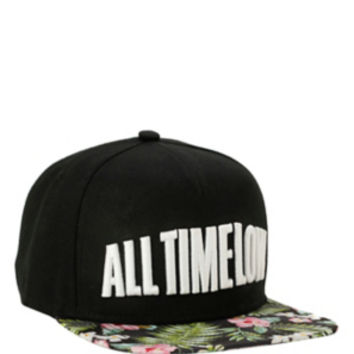 All Time Low Tropical Snapback Hat
