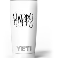 Happy Splatter Yeti Rambler Skin Kit