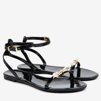 Jelly sandals - Black | Shoes | Ted Baker