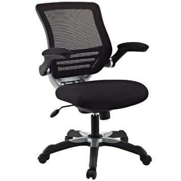 Hodedah Armless Task Chair, Black