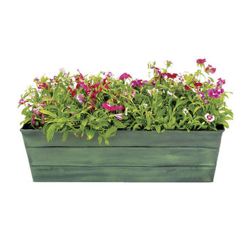 ACHLA Designs VFB-05 Galvanized Tin Window Box Standard