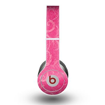 The Subtle Pink Floral Laced Skin for the Beats by Dre Original Solo-Solo HD Headphones