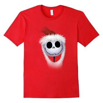 Disney Nightmare Before Christmas Santa Jack T Shirt