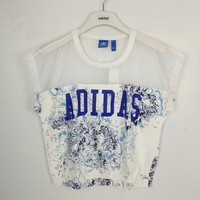 adidas Originals Chiffon Splicing Tee T-shirt