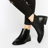 Monki Clean Ankle Boots