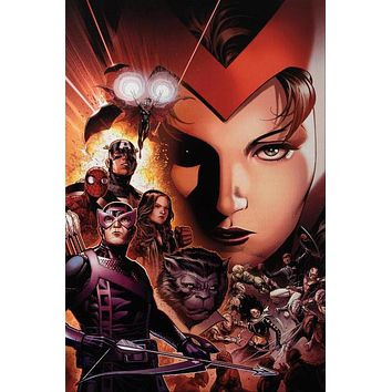 Avengers: The Children's Crusade #6 - Limited Edition Giclee on Stretched Canvas by Jim Cheung and Marvel Comics