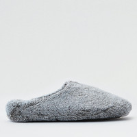 AEO Fur Slipper Scuff , Gray
