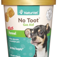 No Toot Gas Aid Plus Fennel Soft Chew 70Ct