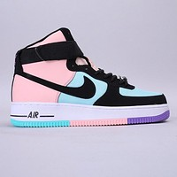 Nike Air Force 1 07 LV8 Fashion New Hook Hit Color Women Men Shoes