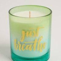 Just Breathe Coconut & Vanilla Candle | 3-Wick Candles | rue21