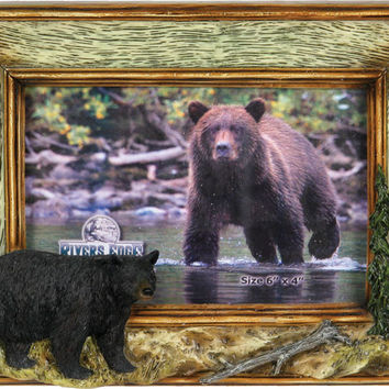 Hunting Frames - Bear Picture Frame