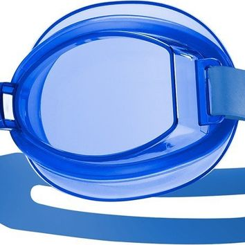Tyr - Racetech Adult Blue Swim Goggles / Clear Lenses