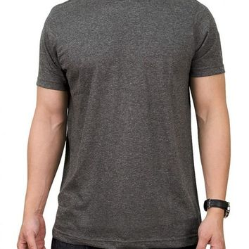 Solid Charcoal T- Shirt