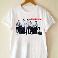 Custom T Shirt one direction Funny Shirt  for t shirt Mens and T shirt Girl Size S-XXL by JumatanBro