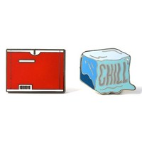 PINTRILL 'Chill' Fashion Accessory Pins (Set of 2) | Nordstrom