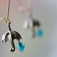 It's a Rainy Day Umbrella Earrings