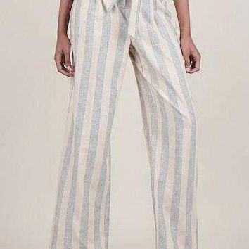 Samira Stripe Linen Pants