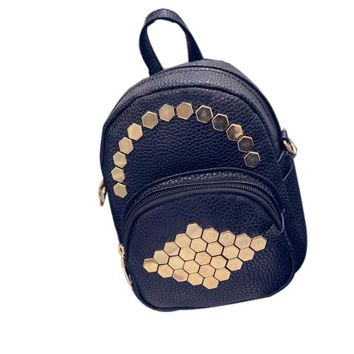 Big Crown Embroidered Sequin Backpack