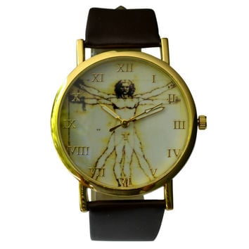 The Vitruvian Man Watch