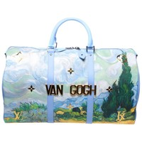 Louis Vuitton x Jeff Koons Van Gogh Keepall 50