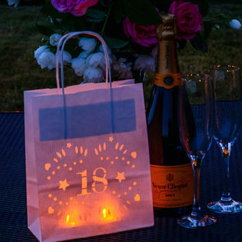 18th Birthday Decorations - perfect decoration - table centrepiece