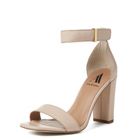 Poppy Two-Piece Chunky Heel Sandal