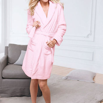Cozy Short Fleece Robe - Victoria's Secret