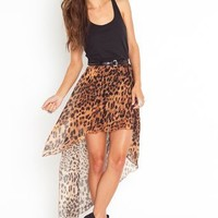Get It Skirt - Leopard in Features Back In Stock at Nasty Gal