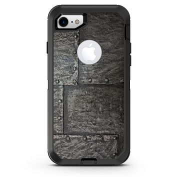 Bolted Steel Plates - iPhone 7 or 8 OtterBox Case & Skin Kits