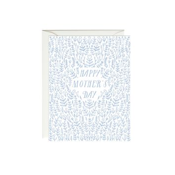 Blue Tulips Mother's Day Card