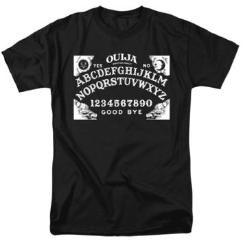 Ouija T-Shirt Board Black Tee