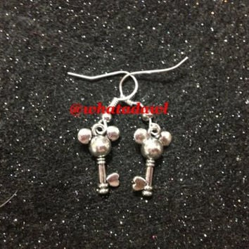 Mickey Mouse Earrings by DawlsBowtique on Etsy