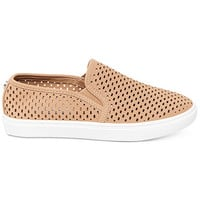 Steve Madden Women's Elouise Perforated Slide-On Sneakers | macys.com