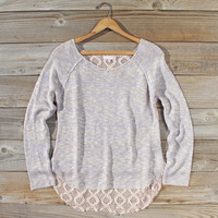 Lace Bark Sweater