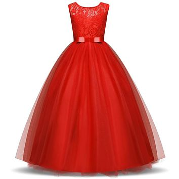 Christmas Flower Girl Dress