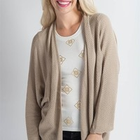 Winter Breeze Cardi - Beige
