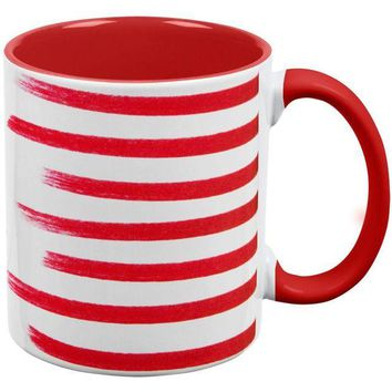 DCCKU3R 4th of July Color Me American Red Handle Coffee Mug