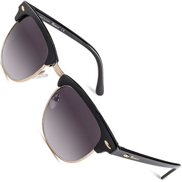 black and gold clubmasters  Shop Clubmaster Frames on Wanelo
