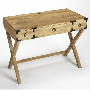 Forster Campaign Writing Desk | Natural